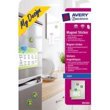 Avery Dennison magnetické etikety MD4004