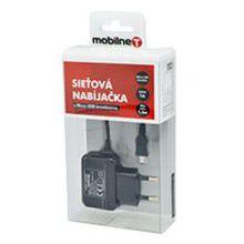 Mobilnet Micro USB nab. 1A (čierna)