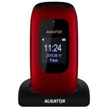 Aligator V600 Senior (červeno-čierny) + nabíjačka