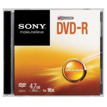 Sony DVD-R 4,7GB, 16x, 1ks