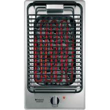 Hotpoint DK B (IX)/HA - elekrický lávový gril Domino