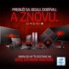 Vstupenky na Intel Extreme Masters k PC alebo notebooku HP