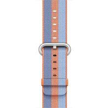 Apple Watch 42mm oranžový nylonový remienok