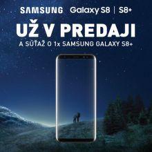 Vyhrajte nový Samsung Galaxy S8+
