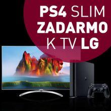 PlayStation 4 ako darček k vybraným televízorom LG