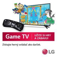 Herný ovládač ako darček k TV LG