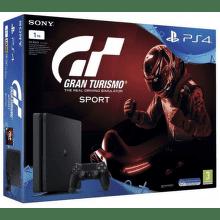 PlayStation 4 Slim, 1TB, čierna + Gran Turismo Sport