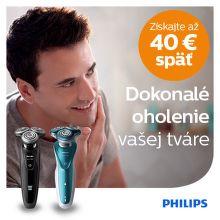 Cashback až do 40 € na holiace strojčeky Philips