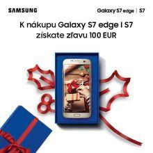 Získajte 100 € zľavu na Samsung Galaxy S7 a S7 Edge