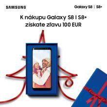 100 € zľava na Samsung Galaxy S8