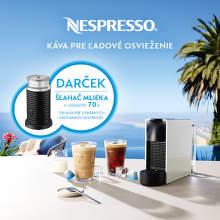 Šľahač mlieka ako darček ku kávovarom Nespresso