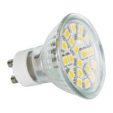 ZIAROVKA LED SMD 21LED GU10 WW Z72230