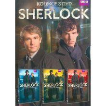 DVD F - Sherlock kolekce 3 DVD - BBC