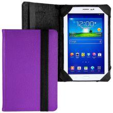 E5 Knižné tvrdené púzdro pre Tablet Davis 7' fialové