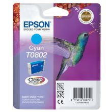 EPSON T0802 cyan (kolibrík) - atrament