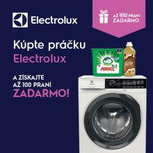 Darčeky k práčkam Electrolux