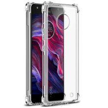 Mobilet puzdro pre Motorola Moto X4, transparentné