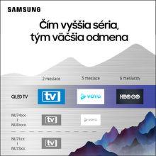 Exkluzívny televízny obsah zadarmo k TV Samsung