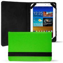 E5 Knižné tvrdené púzdro pre Tablet Davis 7' zelené