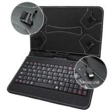 MOBILNET Univerzálne puzdro s Micro USB klávesnicou Čierne (7)