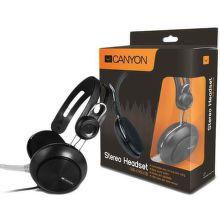 CANYON CNE-CHSU1B, (čierne) - USB Headset