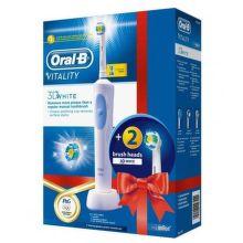 ORAL-B Vitality 3D White + 3D White 2cs. Refills