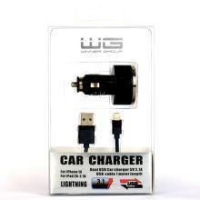 WINNER autonabíjačka USB + dátový kábel iP 5