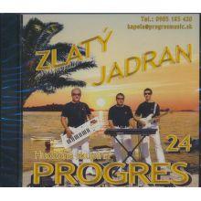 CD H - PROGRES - ZLATY JADRAN