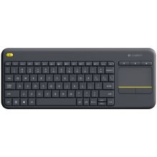 Logitech Wireless Touch Keyboard K400 Plus (čierna)
