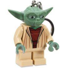LEGO Star Wars - Yoda svietiaca klučenka