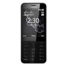 Nokia 230 Dual SIM (tmavo strieborná)