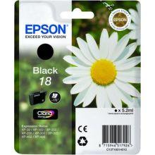 EPSON T1801 18 black (sedmokráska) - atrament