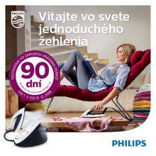 Záruka vrátenia peňazí na parné generátory a žehličky Philips