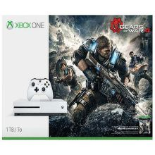 Xbox ONE s 1TB (biela) + Gears of War 4