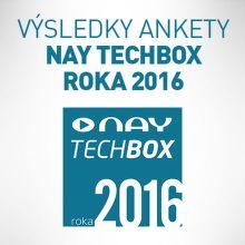 Výsledky ankety NAY TECHBOX roka 2016