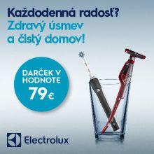 Elektrická zubná kefka k tyčovému vysávaču Electrolux