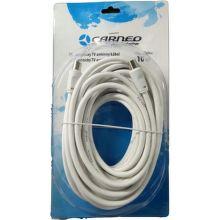 Carneo anténny kábel 10m biely