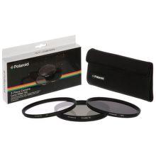 Polaroid 52mm UV MC, CPL, ND9 Filter kit 3ks