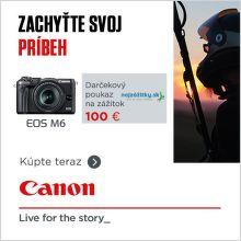 Zážitok v hodnote až do 100 € k bezzrkadlovkám Canon