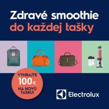 Darček k mixéru Electrolux a súťaž o 100 € nákupný poukaz