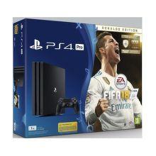 Sony PlayStation 4 Pro 1TB čierny + FIFA18 Ronaldo Edition + PS Plus 14 dní