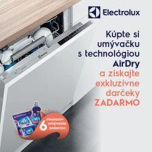Darčeky k umývačkám riadu Electrolux