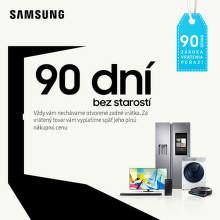90 dní záruka vrátenia peňazí na produkty Samsung