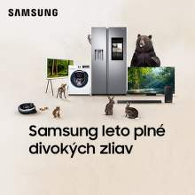 Cashback až do 2000 € na produkty Samsung