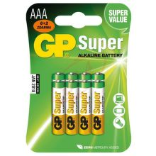 GP B13118 - AAA tužkové batérie 6+2ks