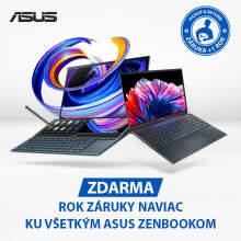 3-ročná záruka na notebooky Asus Zenbook