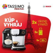 Súťaž o víkendový pobyt v Paríži s kávovarmi Tassimo