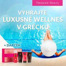 Vyhrajte wellness v Grécku k epilátoru Panasonic