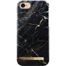 iDeal of Sweden Fashion puzdro pre iPhone 7, Black marble