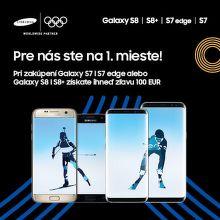 Získajte 100 € zľavu na Samsung Galaxy S7 a S8